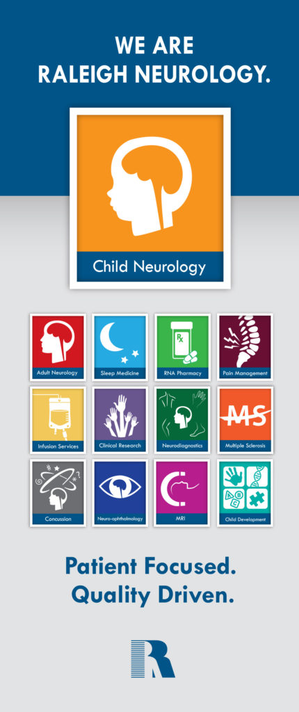 child neuro brochure outside