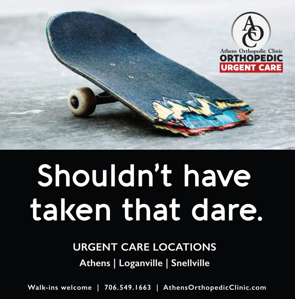 our town skateboard ad