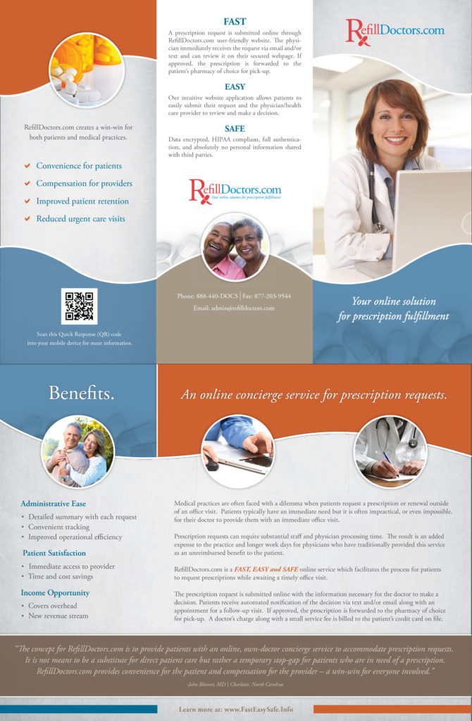 refill dr physician brochure lr-1